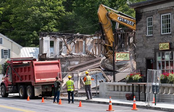 Central Street Demolition 083018