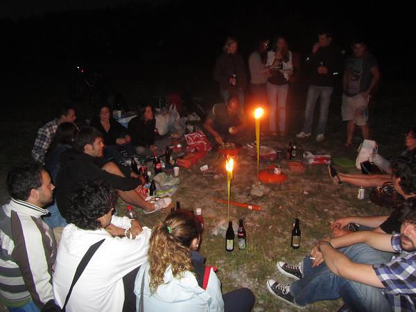 2011.08 Grillen an der Isar