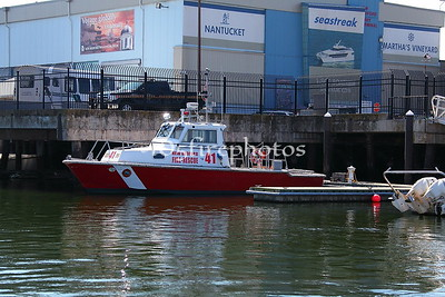 New Bedford Fire Boat Training