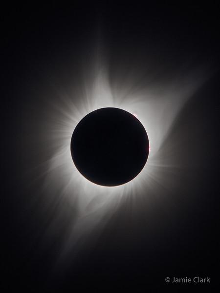 2017 Solar Eclipse. Palisades State Park, Oregon