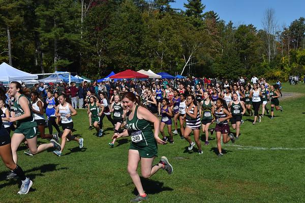 Girls 5 2019 Woods Trail Run 2019-10-05