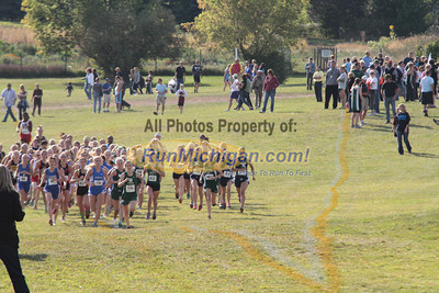 Girls Varsity Start - 2012 Waterford Mott Fall Cross Country Classic