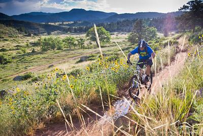 Hall Ranch Mountain Biking (Jul '13)