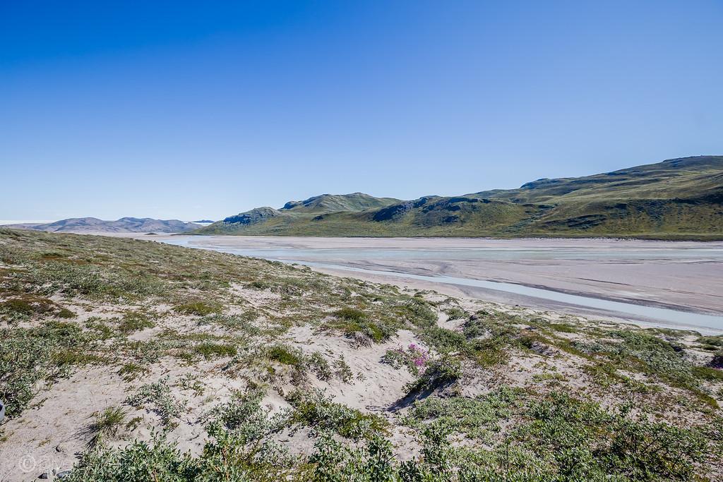 Kangerlussuaq Greenland - Arctic Desert - Lina Stock