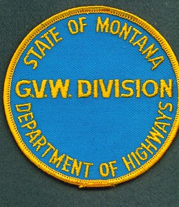 Montana Gross Vehicle Weight Division