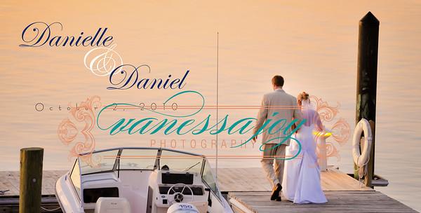 Danielle and Daniel Album Spreads