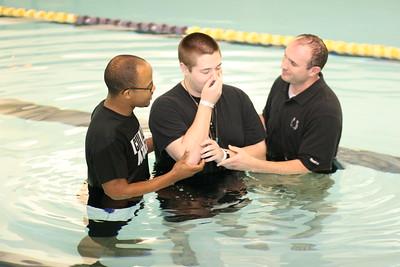 Chi Alpha Water Baptism - TTU Fitness Center - April 18, 2012