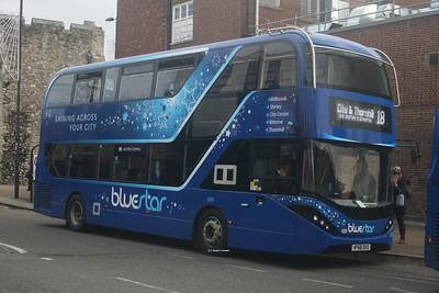 1245, HF68DXO, Bluestar, Bargates, Southampton