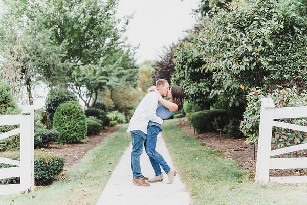 Kelly and Trevor's Engagement at Linwood Estate