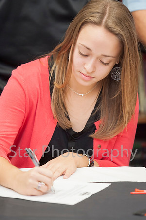 Michaela Matheson signs with Milligan College 11-12-13
