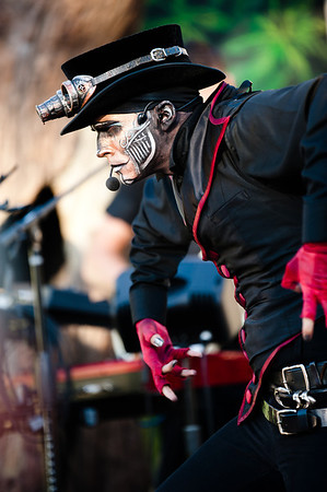 Steam Powered Giraffe June 30th 2012