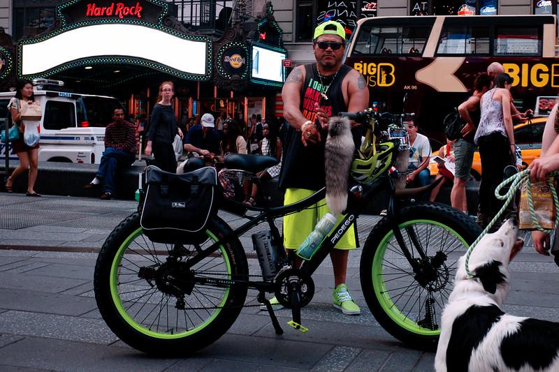 Coordinated Neon Ride