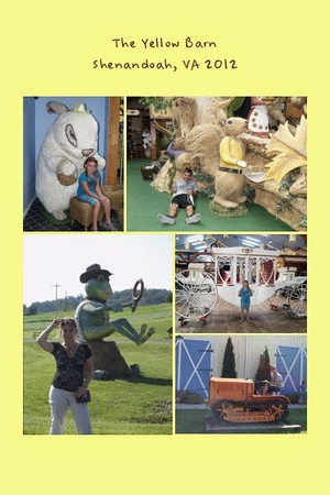 VA, Shenandoah - The Yellow Barn