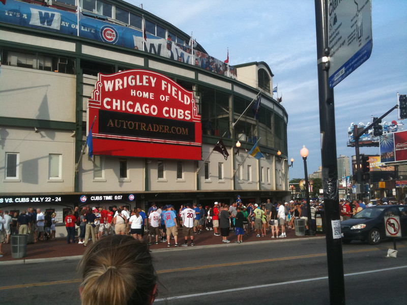 Another shot of Historic Wrigley Field.