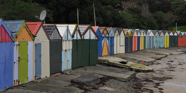 Boatsheds at Titahi Bay North