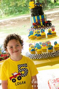 Logan turns 5!