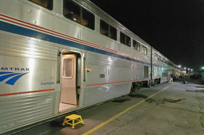 In den USA ist alles etwas grösser. Auch die Züge.