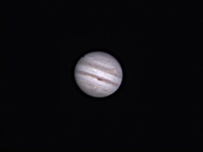 Europa Eclipse on Jupiter 2016
