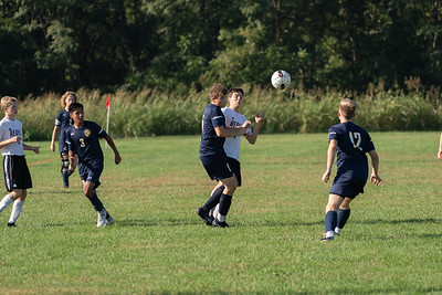 Boys Soccer - Action