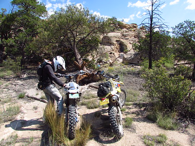 Jemez Mtns. - Virgin Mesa Trailride  9-4-17