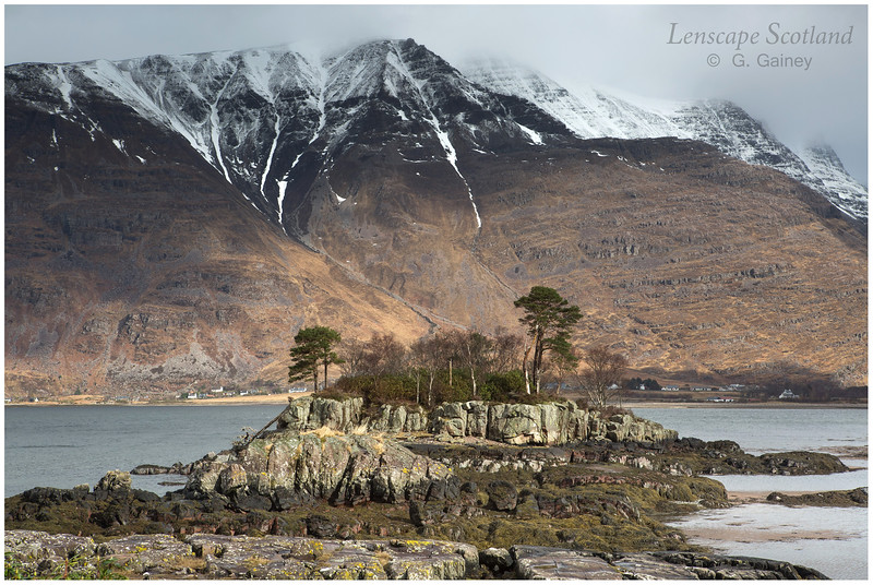 Liathach from Torridon Hotel