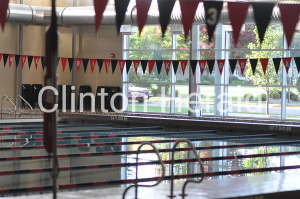 Pleasant Valley at Clinton girls swimming (9-23-14)