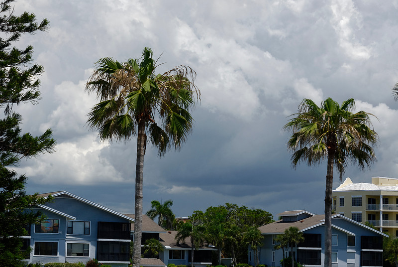 Inland Storm - Siesta Key Florida