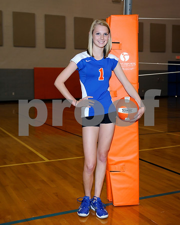 Marshall County 2011 Volleyball Team, August 16, 2011.