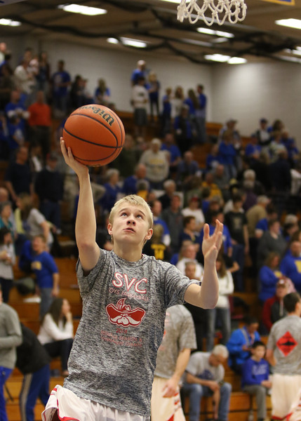 SNHS Boys Basketball vs Blackhawk Christian FW - Regional 2016