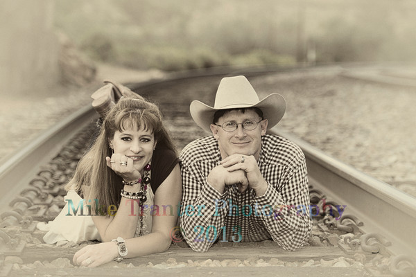 Tammie and Ronnie 2013 Portrait