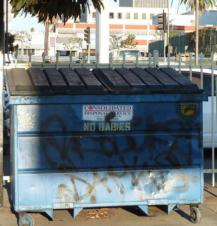 no babies dumpster