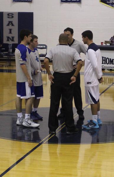 Varsity Boys Basketball at CCA 11.30