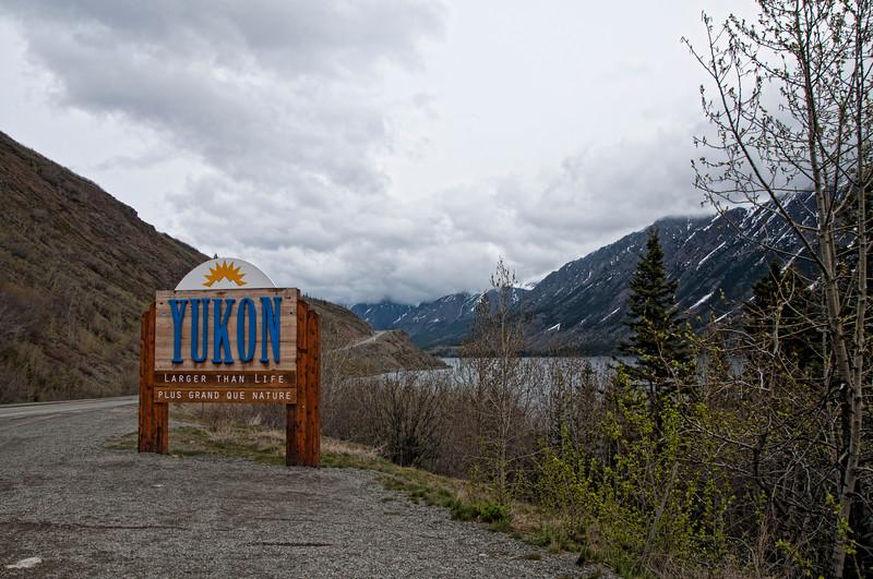 Entering the Yukon area- Larger Than Life!
