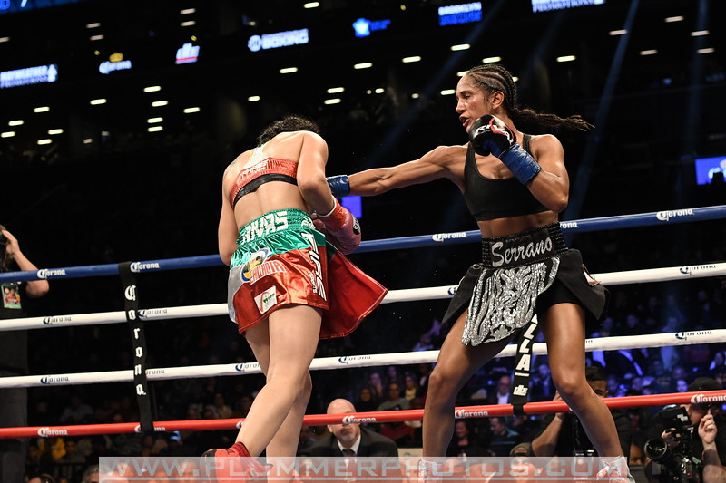 Boxing 2017 - Amanda Serrano versus Yazmin Rivas