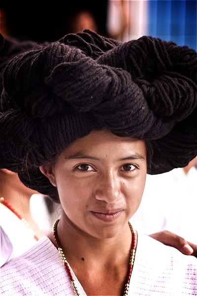 A Traditional Yalalteca Girl - Oaxaca, Mexico