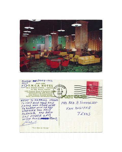 YMCA Hotel - Chicago - 1956