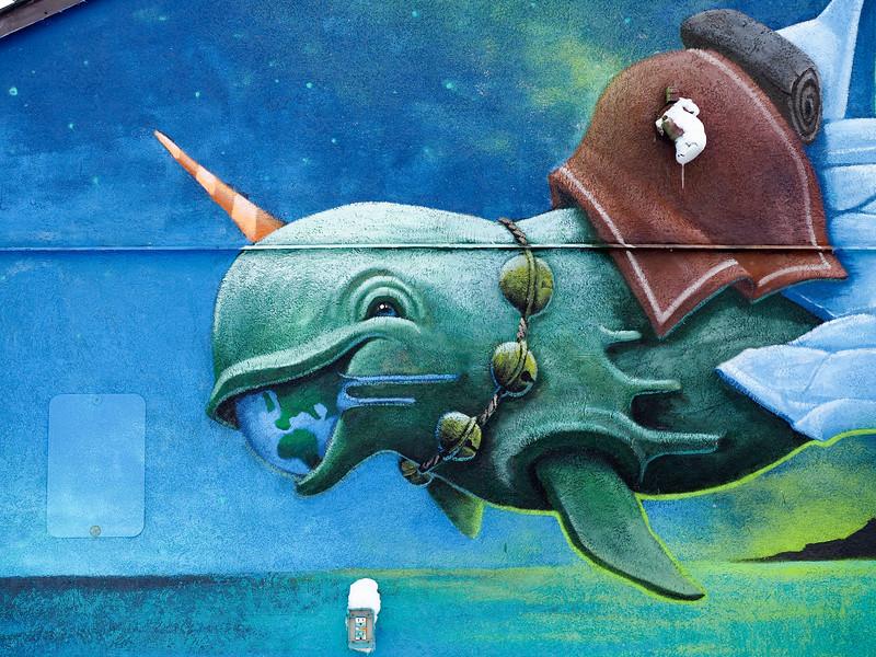 SeaWalls mural in Churchill