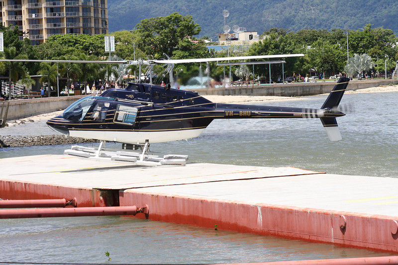 VH-BHU BELL-206 GREAT BARRIER REEF HELICOPTERS
