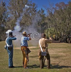 Fort Foster Seminole War Reenactment 2010