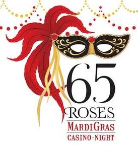 65 Roses Mardi Gras Casino Night 2008