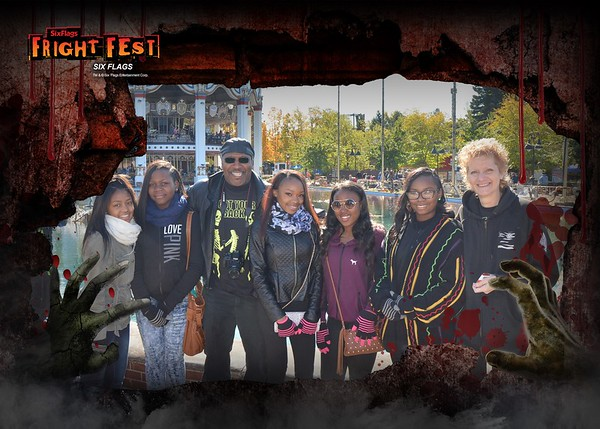 20151017 Six Flags Great America Fright Fest