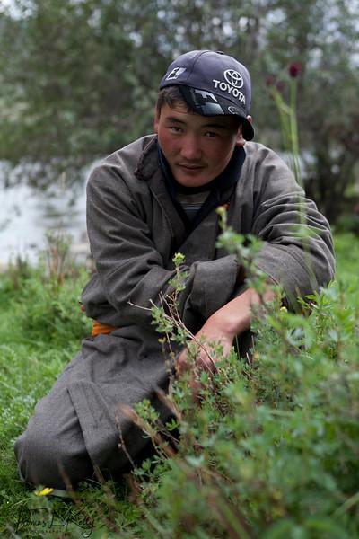 Mongols of Bunkhan Valley. Mongolia.