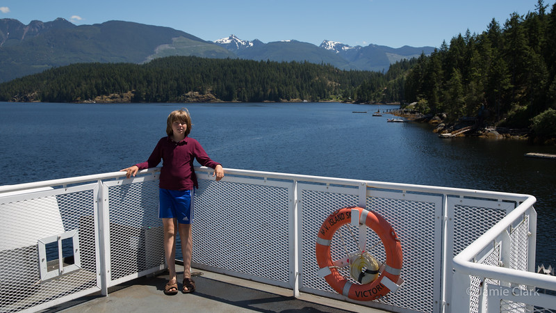 Ferry to Saltery Bay, British Columbia