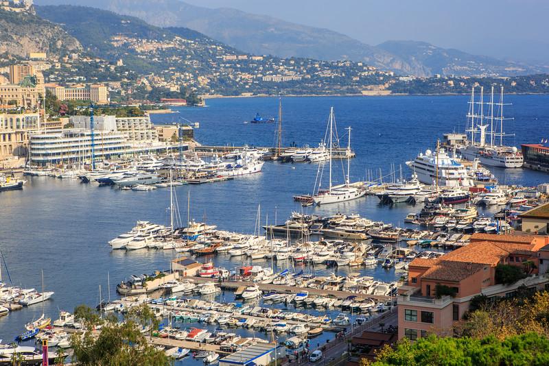 Harbor in Monaco/Monte Carlo