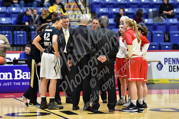 Berks County Playoffs - Wilson vs Berks Catholic girls Basketball 2015 - 2016