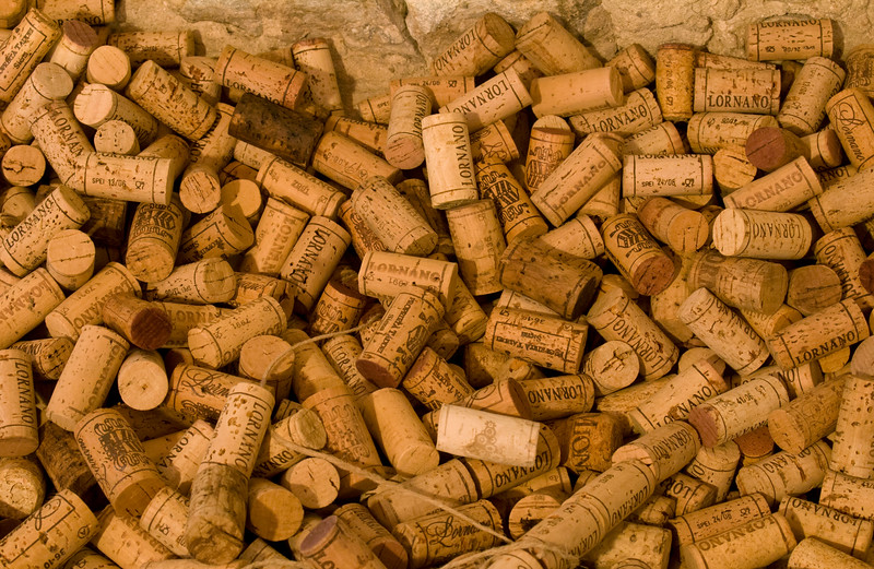 Assorted Wine Corks, Chianti, Italy