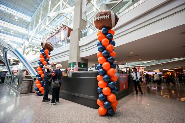 2-5-16 DEN United in Orange Information Booth Giveaways