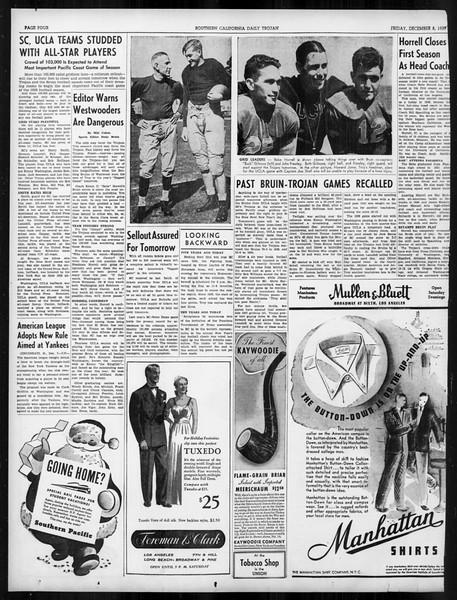 Daily Trojan, Vol. 31, No. 58, December 08, 1939