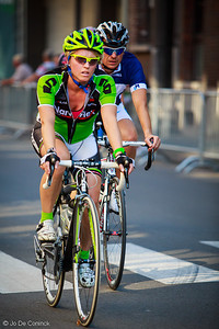 1207 Criterium Aalst : oud-wielrenners & bv's