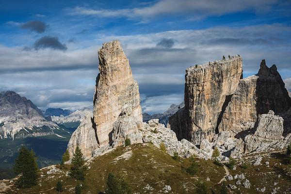 Dolomites: Cinque Torri 2019